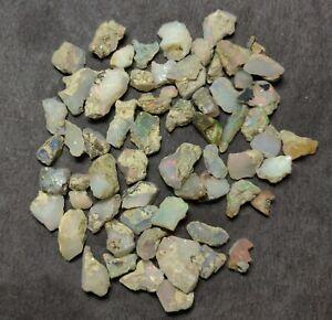 Natural Ethiopian Opal Rough Loose Gemstone Lot 35 CT