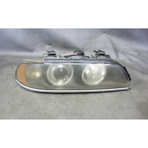 Damaged 2001-2003 BMW E39 5-Series Right Front Passeng Xenon Headlight White OEM