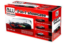 AUTOWORLD COLLECTABLE DISPLAY SHOW CASE FOR 1/64 1/43 1/24 SCALE AWDC004