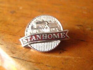 Vintage StanHome Silver Tone Enamel Pin