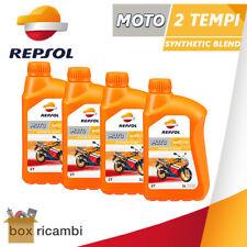 4 LITRI OLIO MOTORE MOTO 2 TEMPI REPSOL SINTETICO ( MOTO E SCOOTER 2T )