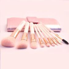 9Pcs Makeup Brushes set Powder/Slope/Blush/Eye Shadow/Dome/Eye Brow/Lip /w Bag
