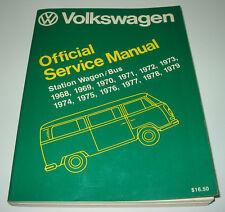 Reparaturanleitung VW Bus Bulli T2 Station Wagon T 2 Repair Manual 1968 - 1979!