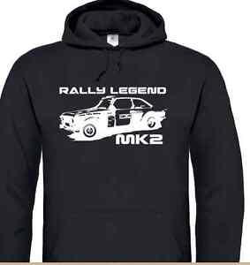 'Ford Escort Mk2' Hoodie (Rally, RAC, Classic Car, Mexico,Hoody)
