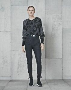 PANTALON HIGH USE HIGH TECH BY CLAIRE CAMPBELL EX GIRBAUD MODELE IN MOTION