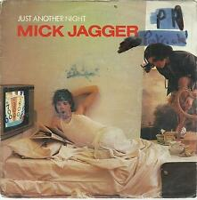 45 TOURS 2 TITRES/ MICK  JAGGER  JUST ANOTHER NIGHT    B2