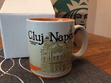 Starbucks City mug Cluj Napoca....Romania....Neu/New...