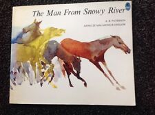 The Man From Snowy River, By A. B. Paterson, Vintage 1991 softcover Beautiful