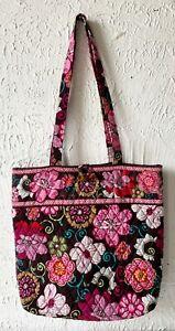 Vera Bradley Large Toggle Tote Shoulder Bag Mod Floral Retired Pattern