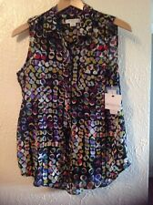 Ladies Liz Claiborne Petite small sleeveless 2 piece top. NEW