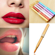MakeUp Women Portable Retractable Cosmetic Lip Brush Gloss Lipstick Beauty New
