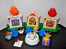 Fisher Price Little People Musical Birthday Party Set with Musical Cake