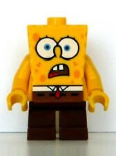 Lego SpongeBob Shocked bob007 (From 4981) Bob L'éponge Minifig Figurine New