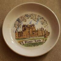 Vintage Glamis Castle Souvenir Bowl Dish  Glasgow Scotland Goodliffe Neale 4 1/4