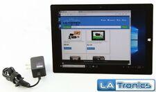 "Microsoft Surface 3 1657 10.8"" Tablet 4G LTE Atom 1.6GH 4GB RAM 128GB SSD Win 10"