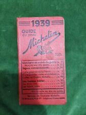 Guide Michelin rouge 1939 35e année