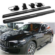 Fits for Maserati Levante 2016-2020 Deployable Running Board Side Step Nerf Bar