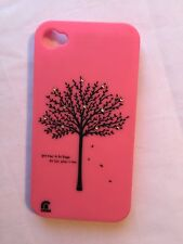 Apple iPhone 4 / 4S Pink Tree Case