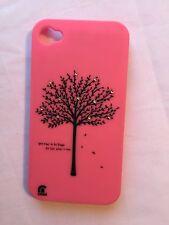 Apple iPhone 4 / 4S Pink Tree Case