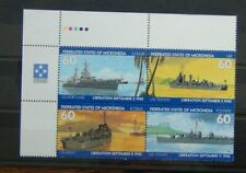 Micronesia 1995 50th Anniversary of End of Second World War Liberation set MNH