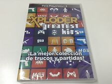 XPLODER GREATEST HITS PLAYSTATION 3 . Pal España... Envio Certificado...Paypal