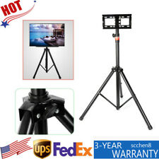 Tripod Tv Stand-Television Lcd Flat Panel Monitor Mount 18' to 32� Foldable New
