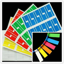 Self-adhesive Cable Labels Identification Markers Tags 300 small pcs waterproof