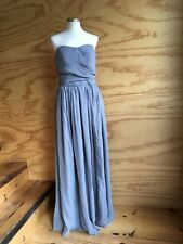 Tevolio bridesmaid dress. Dark gray. Formal dress. sz 18