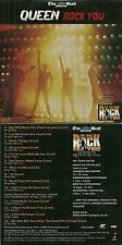 "CD - QUEEN : QUEEN IN LIVE "" ROCK YOU "" ( EN CONCERT )"