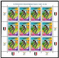 Italia 2000 Minifoglio Lazio Campione d'Italia MNH