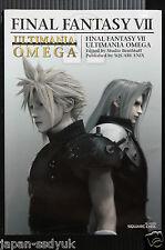 JAPAN Final Fantasy VII Ultimania Omega Square enix book
