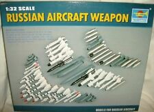 trumpeter 1/32 RUSSIAN MODERN AIRCRAFT WEAPONS SET