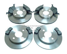 FORD FOCUS FRONT & REAR BRAKE DISCS AND PADS SET NEW MK1 1998-2004