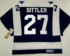 DARRYL SITTLER - size LARGE - Toronto Maple Leafs CCM 550 VINTAGE Hockey Jersey