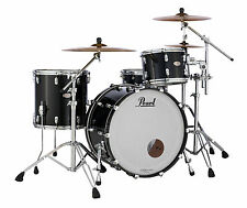 Pearl Reference Shell Pack Piano Black 22x16 12x8 16x16 Drums Free Bags, US Ship