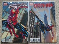 Amazing Spider-Man #1 & Superior Spider-Man #31, connecting variants, marvel