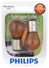 Turn Signal Light Bulb-Longerlife - Twin Blister Pack Philips 1157NALLB2