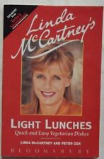 Linda McCartney and Peter Cox, Light Lunches, Like New, Paperback