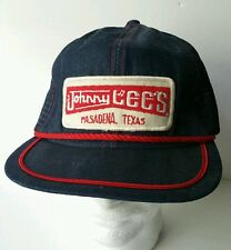 Denim hat Urban Cowboy cap Gilleys Johnny Lees Snapback Mesh Trucker Vintage