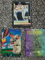 Jeff Bagwell 3-card LOT Houston Astros 1992 Pinnacle Rookie Card