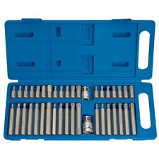 Draper Tools 40 Piece Hexagonal, Torx & Spline Bit Mechanic Set TX-STAR 33323