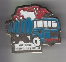 RARE PINS PIN'S .. AGRICULTURE TRACTEUR BTP METAL CAMION TRUCK GRUE LEVAGE 57~DB