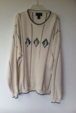 Fairway Sport  Golf Sweater xl, white, xtra large nice