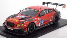 Spark Bentley Continental GT3 24h Le Mans 2017 Kane/Smith/Soulet #36 1/18 LE 300