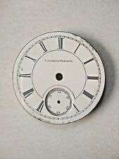 Face Only, Roman Script, Enamel Antique Columbus Watch Co. Pocket Watch