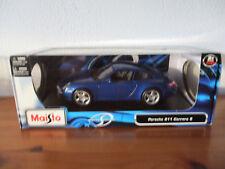 ( GO ) 1:18 Maisto Porsche 911 Carrera S NOUVEAU / EMBALLAGE D'ORIGINE