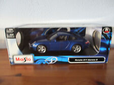 ( Go) 1:18 MAISTO PORSCHE 911 Carrera S NUEVO / emb.orig