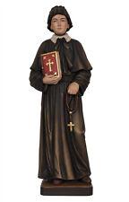 Statua  Santa Elisabetta Anna Seton cm 30 - In legno scolpita a mano -