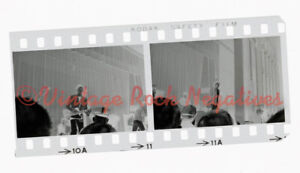 RARE Early Rolling Stones 7/3/66 Asbury Park NJ VTG 35mm Photo Negatives © Avail