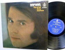 RAPHAEL con el sol de la manana LP 1973 Spanish Pop  C